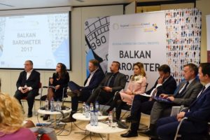 RCC presents Balkan Barometer 2017 on 9 October 2017 in Brussels.