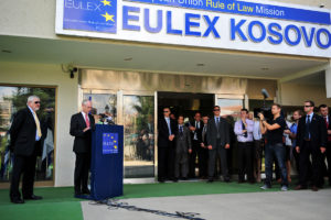 EULEX office in Kosovo is EU's largest mission