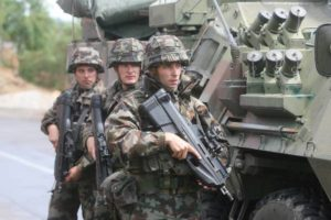 NATO has already eighteen years of providing security in Kosovo.