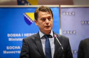 Bosnia and Herzegovina's Deputy Minister of Security, Mijo Kresic