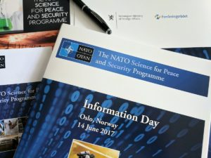 NATO Science for Peace (SPS) Programme Info day 2017 was held on June 14.