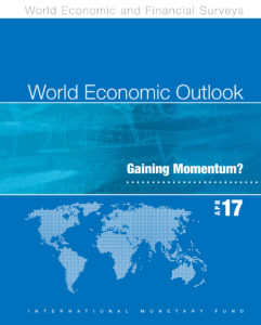 World Economic Outlook (WEO) April 17 book available on stores.