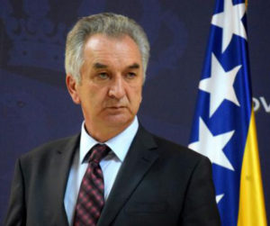 Mirko Sarovic, Minister of Foreign Trade and Economic Relations of Bosnia and Herzegovina
